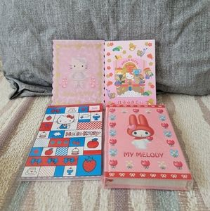 Hello Kitty and My Melody Notebooks